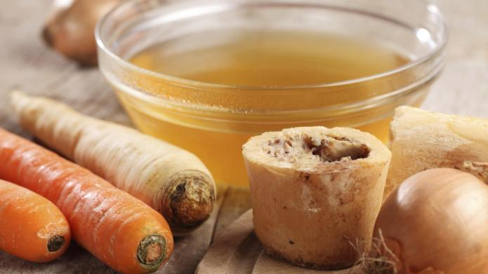 Bone broth is the easy (and