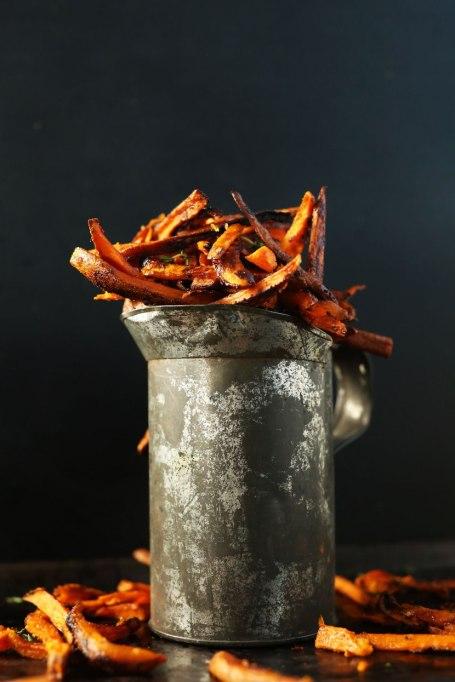 Cajun baked sweet potato fries