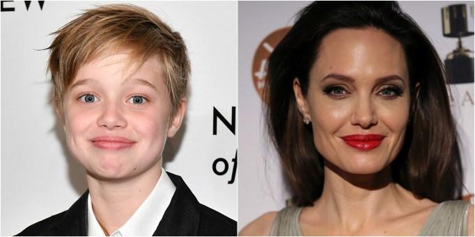 Celeb Kid Lookalike Shiloh Jolie-Pitt Angelina Jolie