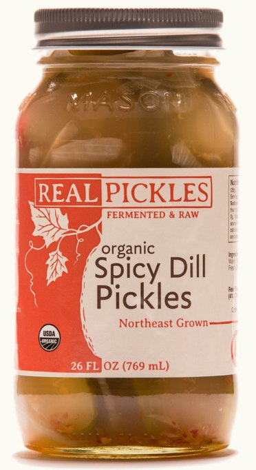 Organic spicy pickles by Real Pickles