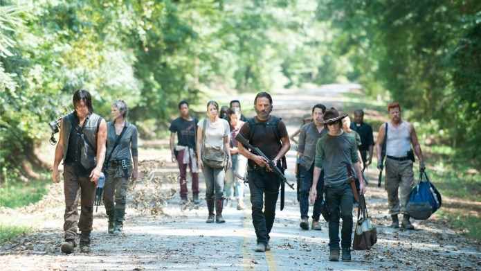 'The Walking Dead' then and now: