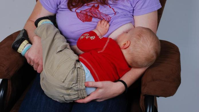 Breastfeeding conference tells moms they can't