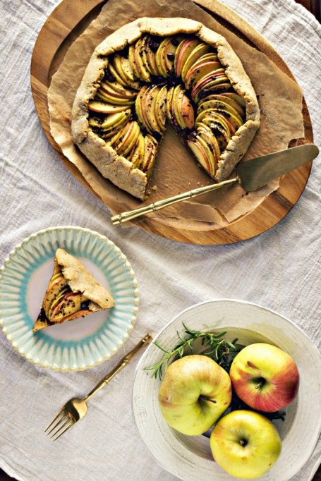 New Twists on Classic Thanksgiving Pies: Rosemary Dark Chocolate Apple