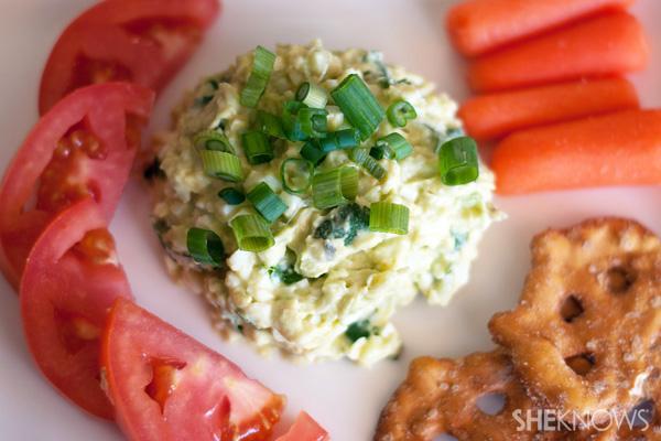 Jalapeno and avocado egg salad recipe