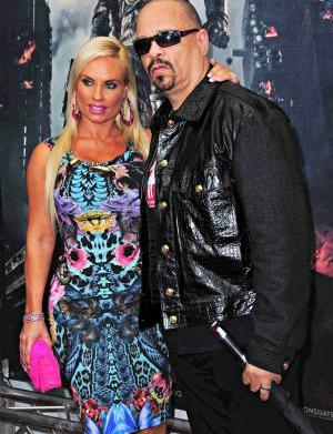 Ice-T disrespected by Coco's canoodling &