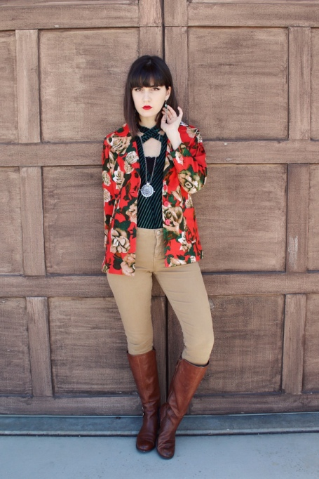 Modern Ways to Wear Blazers: Lex in Fleurs | Fall Fashion 2017
