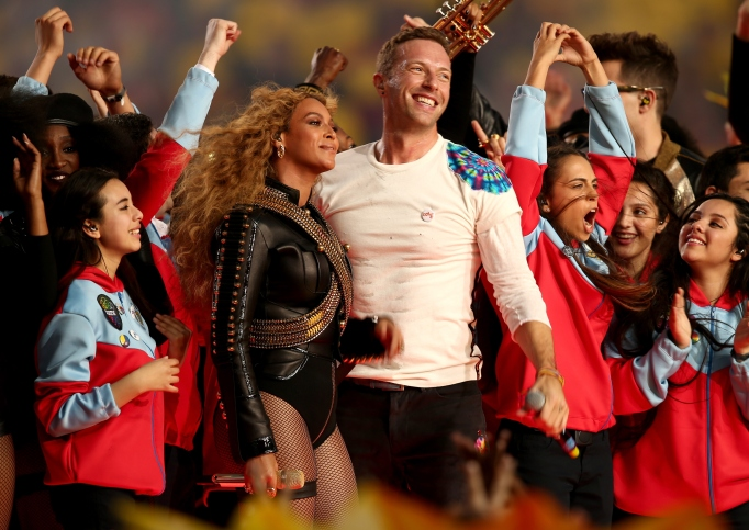 Beyonce & Chris Martin Super Bowl 50