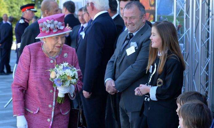 Queen Elizabeth II Scolding a Pony