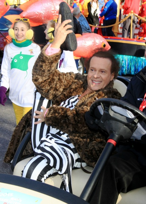 Macy's Thanksgiving Day Parade: Richard Simmons