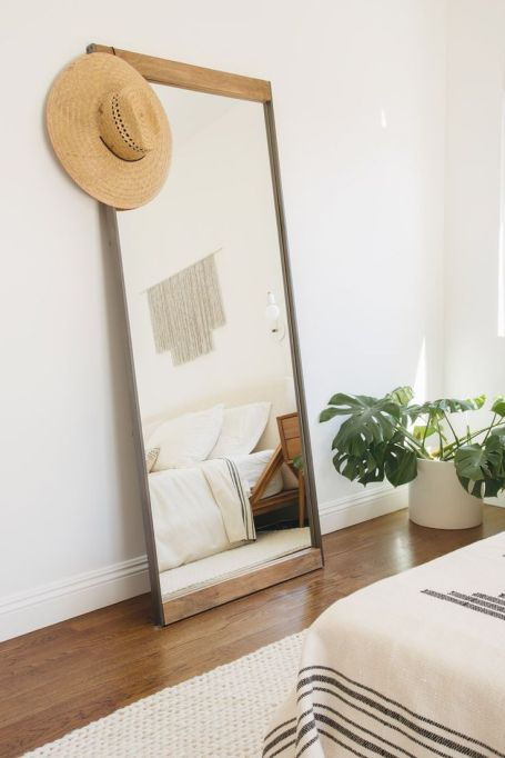 How to Decorate Small Spaces: Reflective mirros make tiny rooms seem bigger.