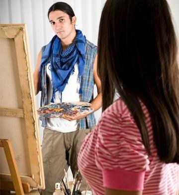 How to date an artist