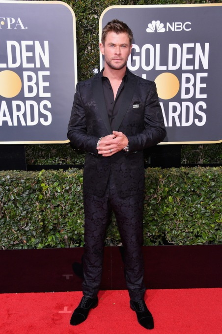 Best Golden Globes fashion 2018: Chris Hemsworth