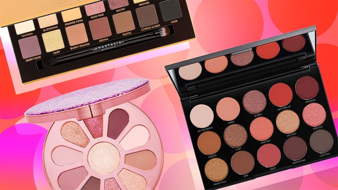 15 Warm-Toned Eye Shadow Palettes to