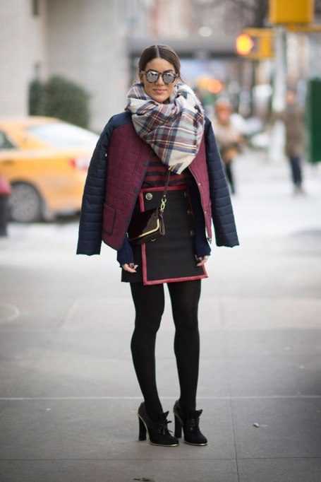 Blanket Scarves to Keep You Cozy This Fall and Winter: Maroon Blues   Fall and Winter Fashion 2017