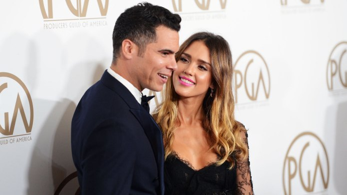 Jessica Alba & Cash Warren Just