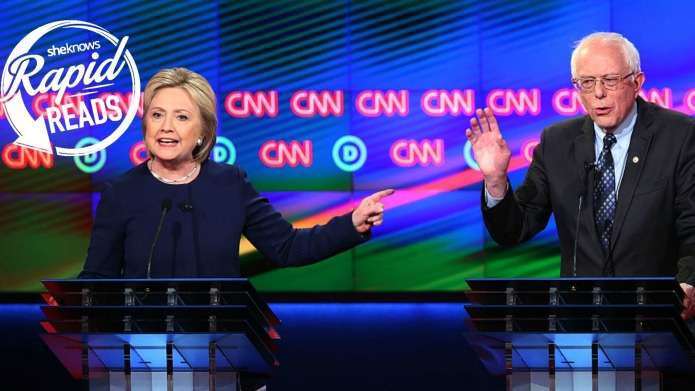 Clinton and Sanders face off in