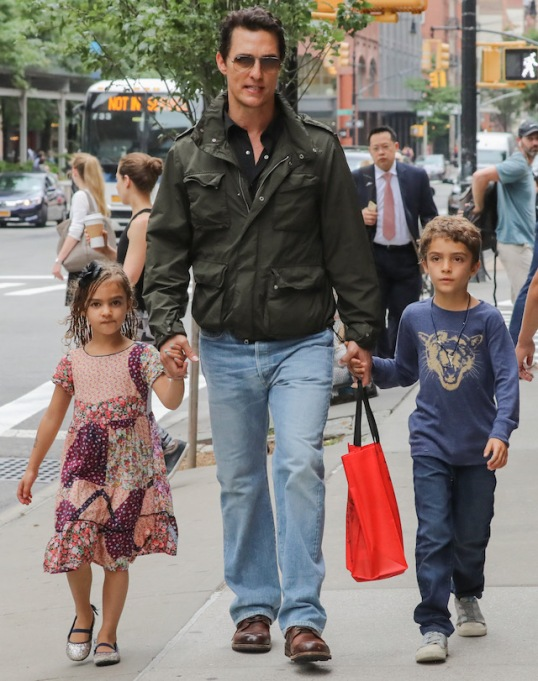 Celebrity Babies Born in July: Levi McConaughey