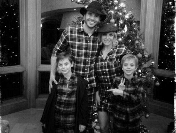 Britney Spears, Sean, Jayden James and Charlie Ebersol
