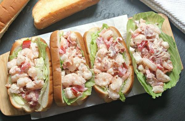 Shrimp BLT roll recipe