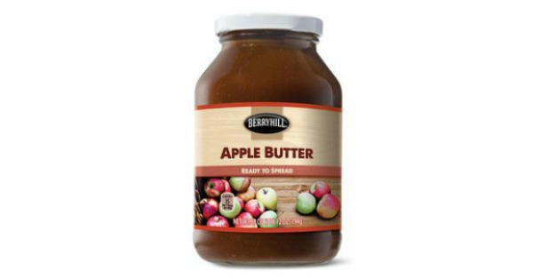 Berryhill Apple Butter at Aldi
