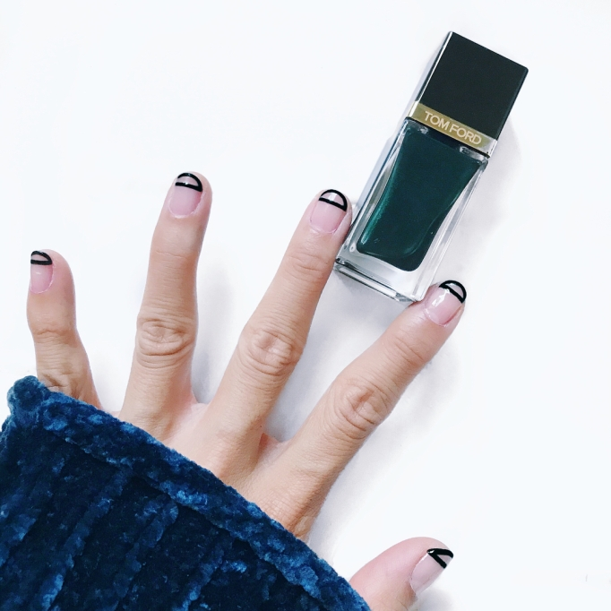 Cool Nail Designs For Short Tips and Biters: Faux Edge | Nail Care
