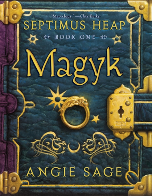 Fantasy, Mystery & Adventure Books for Tweens | 'Septimus Heap, Book One: Magyk' By Angie Sage