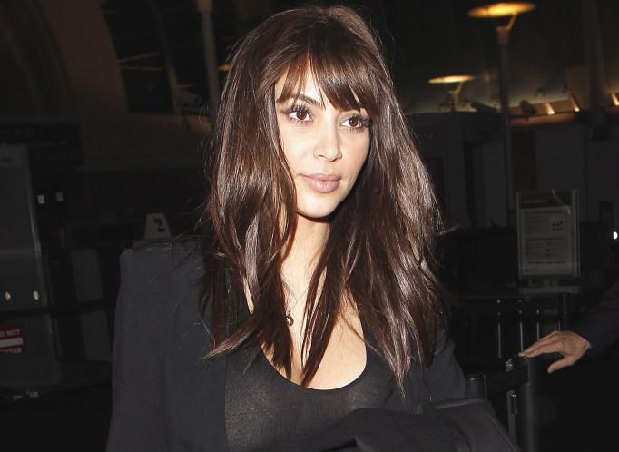 Kim Kardashian in 2012