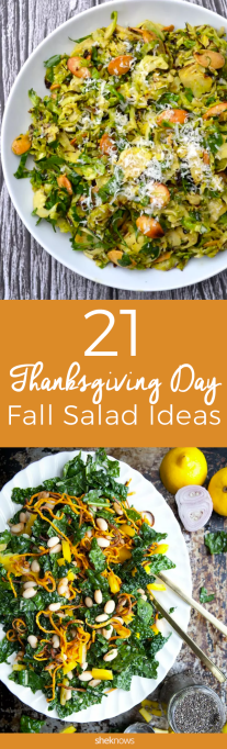 Pin it! 20 Fall Salads That Deserve a Place at Your Thanksgiving Table