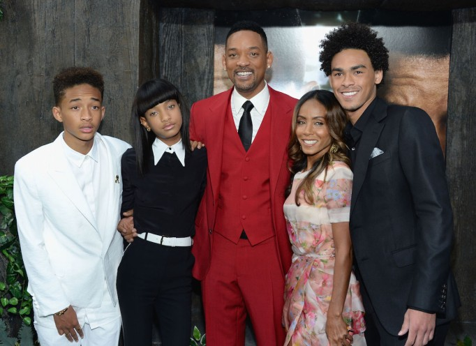 Will Smith, Jada Pinkett Smith and kids