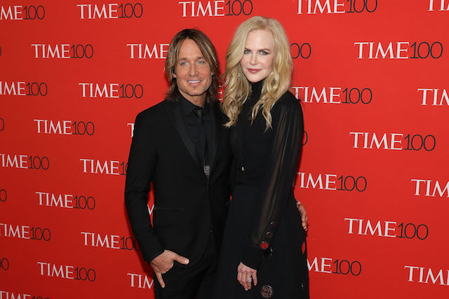 Keith Urban & Nicole Kidman attend the 2018 Time 100 Gala