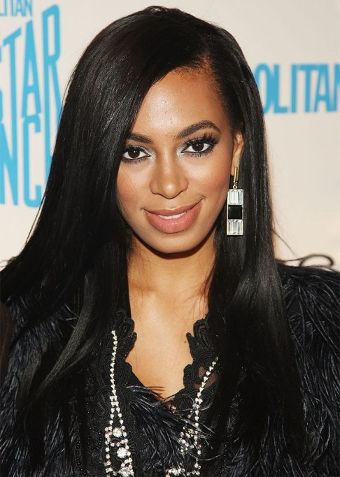 Dramatic Celebrity Hair Makeovers | Before: Solange