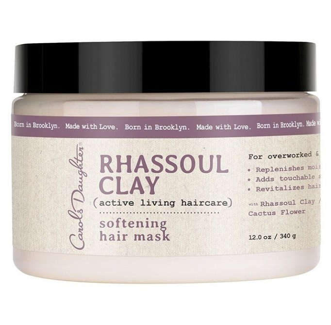 Products That Get Rid of Greasy Hair Fast   Carol's Daughter Rhassoul Clay Softening Hair Mask