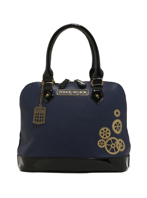 Quirkiest Gifts from Your Favorite Pop Culture Shows: 'Doctor Who' TARDIS satchel bag