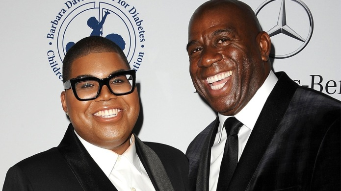 Magic Johnson Couldn't Be Prouder of