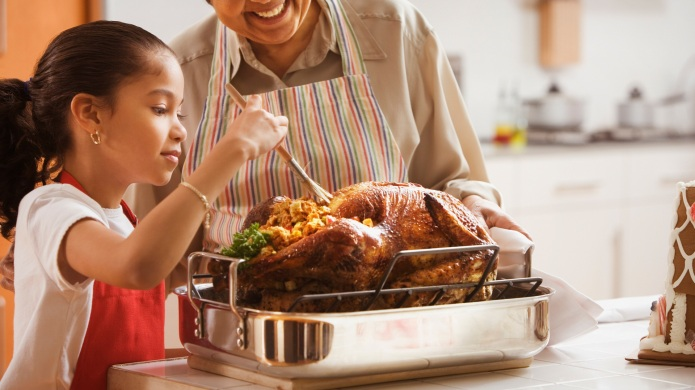 Letting kids help at Thanksgiving (without