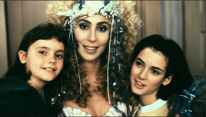 Cher winona ryder and christina ricci in mermaids