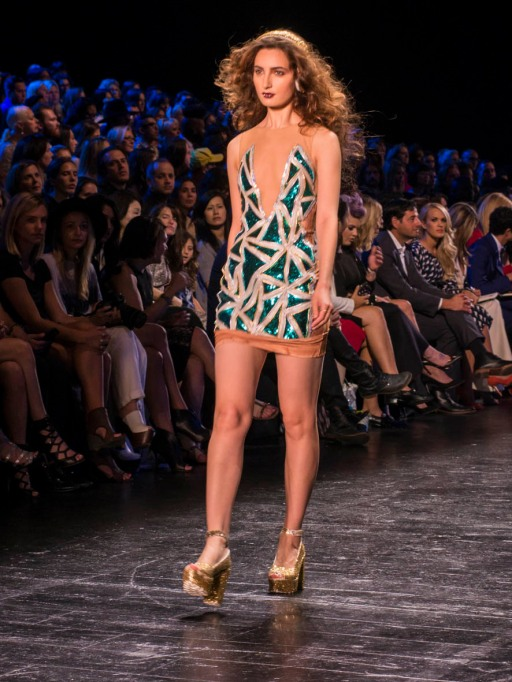 Project Runway mini dress