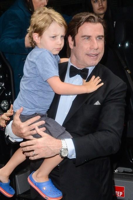Celebrity Babies Born in November: Benjamin Travolta