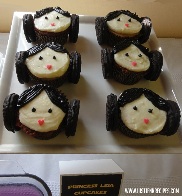 Princess Leia cupcakes recipe