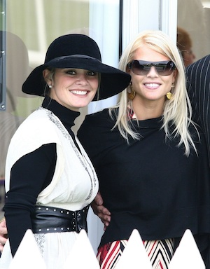 Elin Nordegren at the 2009 Ryder Cup.