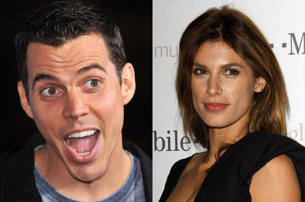 Elisabetta Canalis and Steve-O are dating