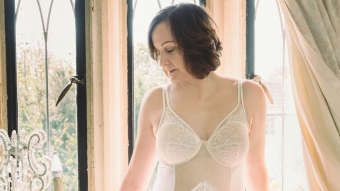 Mastectomy lingerie inspired by cancer survivor