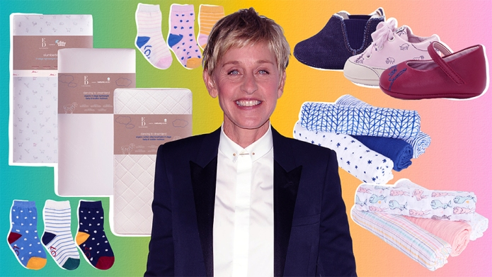 Ellen DeGeneres Launches New Baby Lifestyle