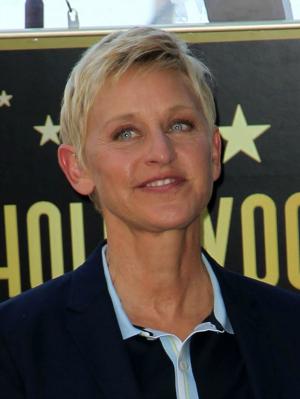 Ellen DeGeneres smirk