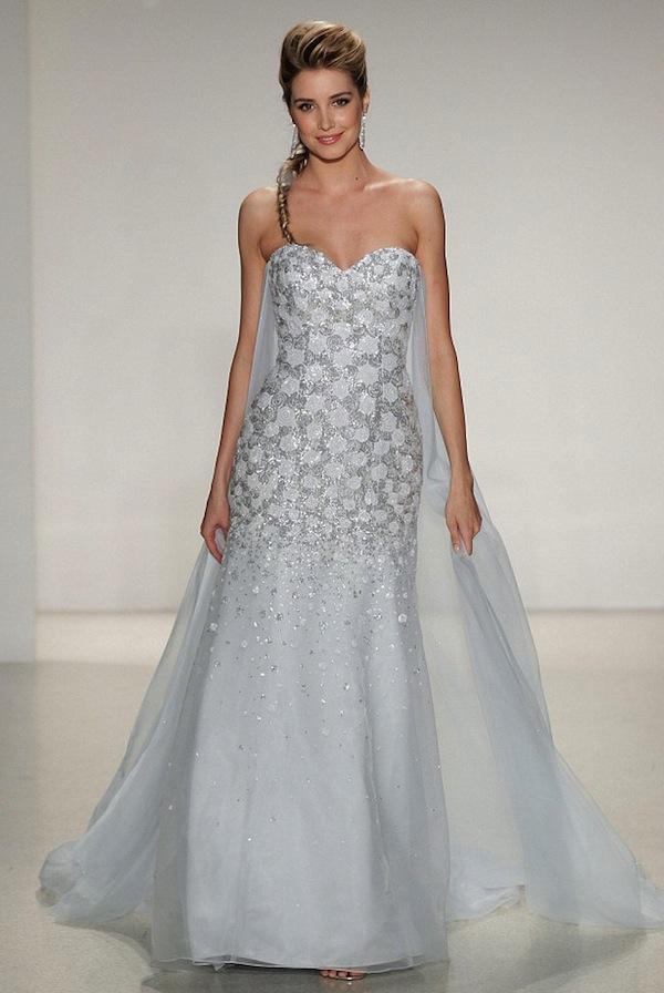 Elsa dress Alfred Angelo