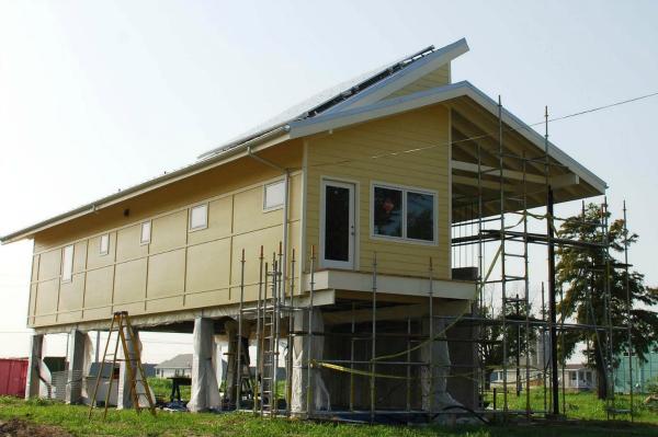 Brad Pitt's modern house design