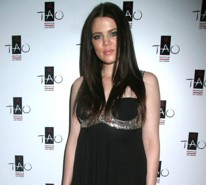 Khloe Kardashian in 2007
