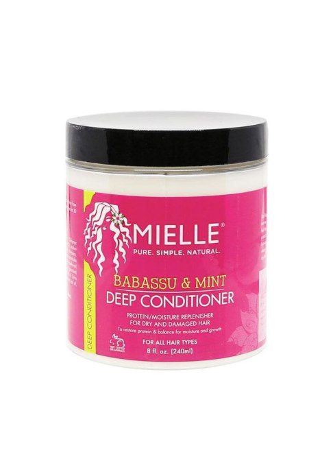 Drugstore Beauty Products Celebrities Genuinely Love | Mielle Organics Babassu Oil & Mint Deep Conditioner