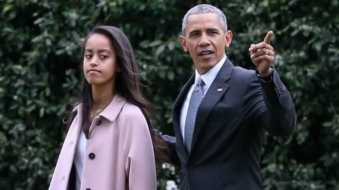 Halle Berry Gives Intern Malia Obama