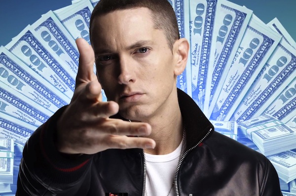 Eminem rules Facebook.